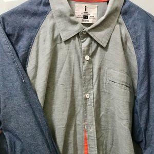 Jeans by Buffalo button down shirt